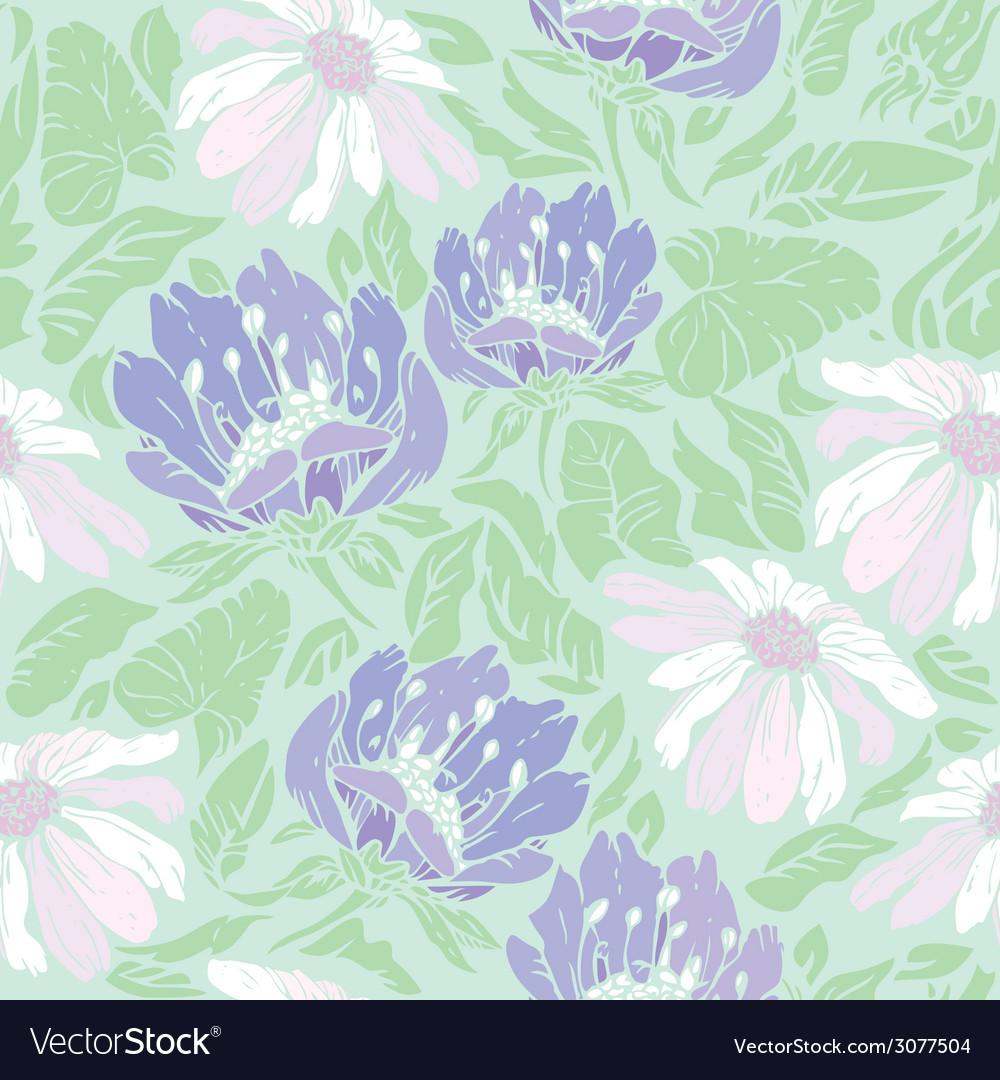 Flowers handdrawn 10 380 vector | Price: 1 Credit (USD $1)