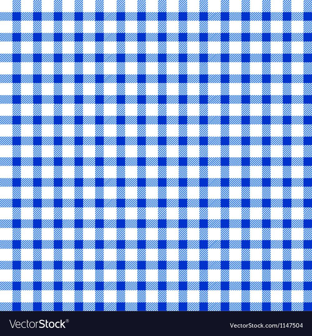 Seamless retro white-blue square tablecloth vector   Price: 1 Credit (USD $1)