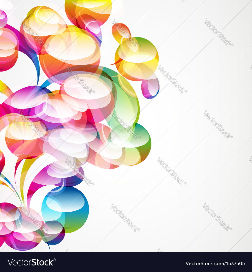 Abstract arc-drop background vector | Price: 1 Credit (USD $1)