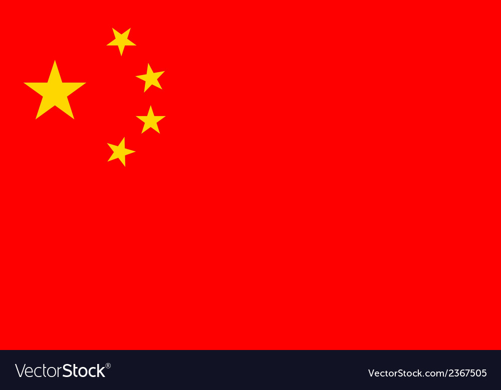 Flag of china vector   Price: 1 Credit (USD $1)
