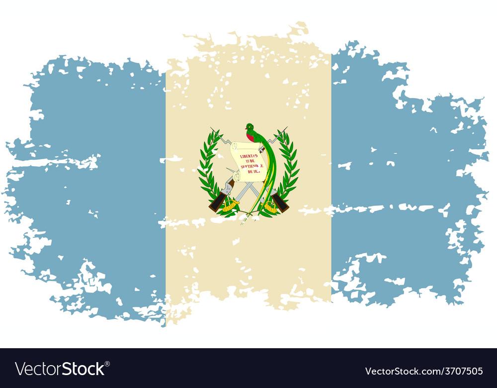 Guatemalan grunge flag vector   Price: 1 Credit (USD $1)