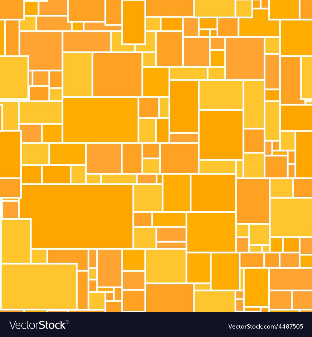 Seamless orange rectangular structured vector | Price: 1 Credit (USD $1)