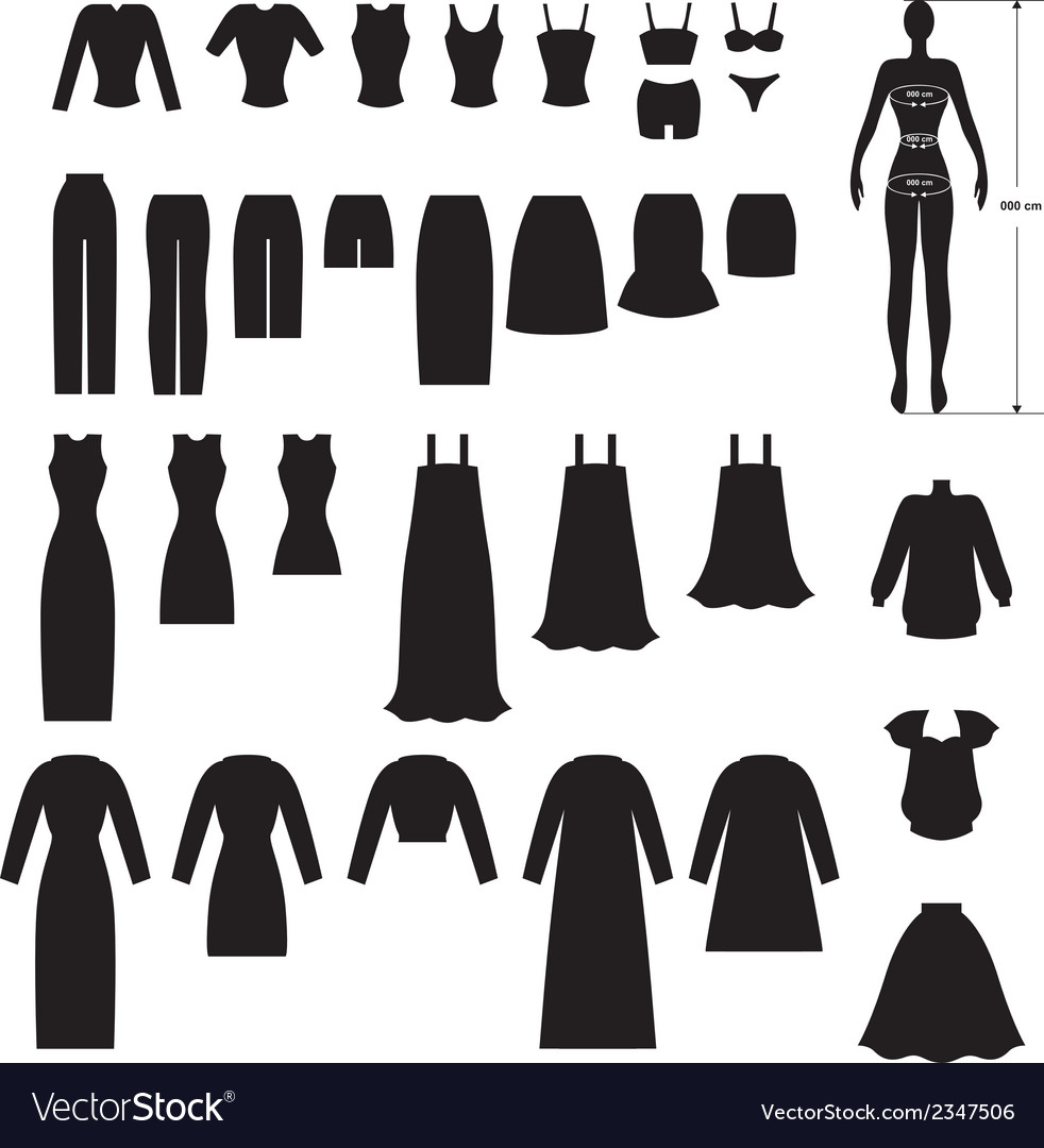 Clothing set vector | Price: 1 Credit (USD $1)