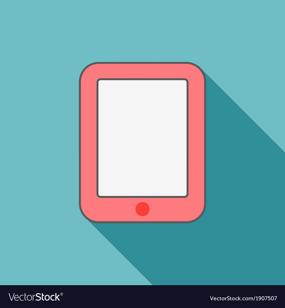 Pink ipad vector | Price: 1 Credit (USD $1)