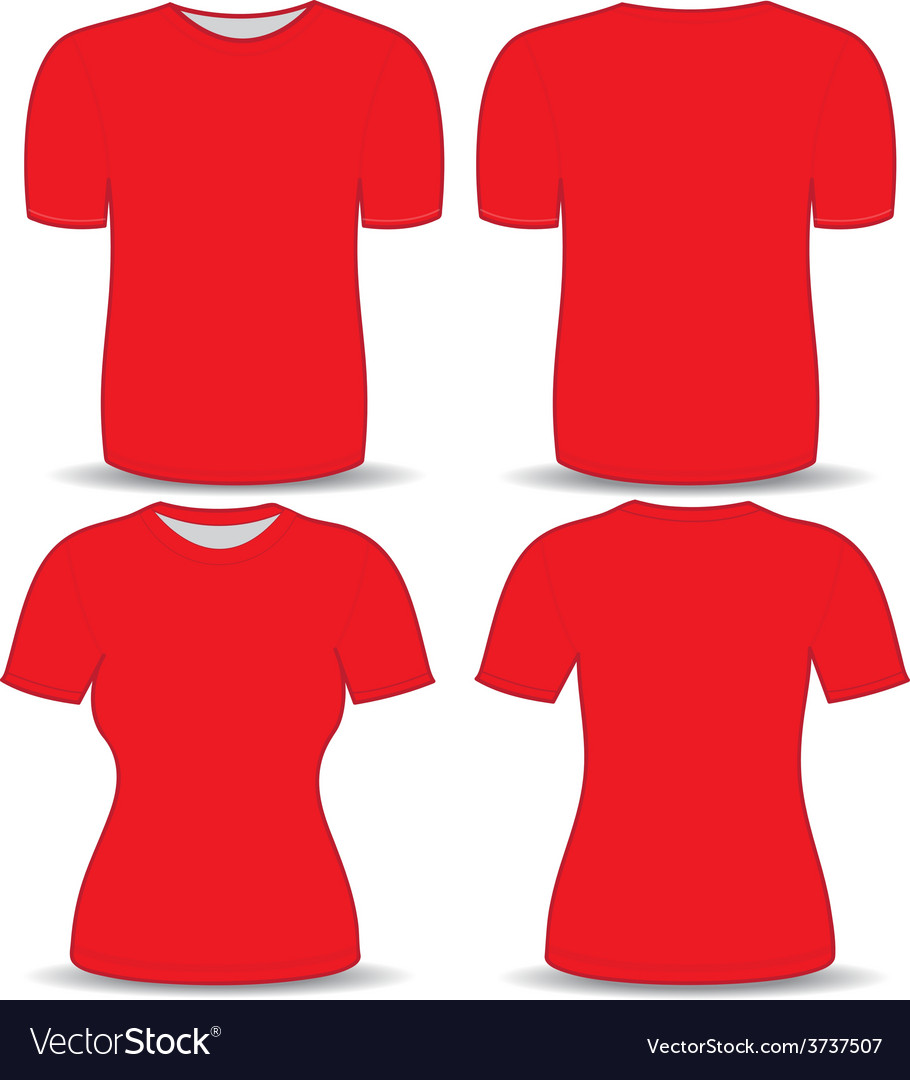 T shirt red template vector   Price: 1 Credit (USD $1)