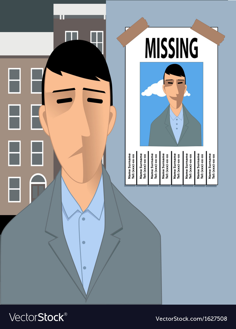 Feeling lost vector | Price: 1 Credit (USD $1)