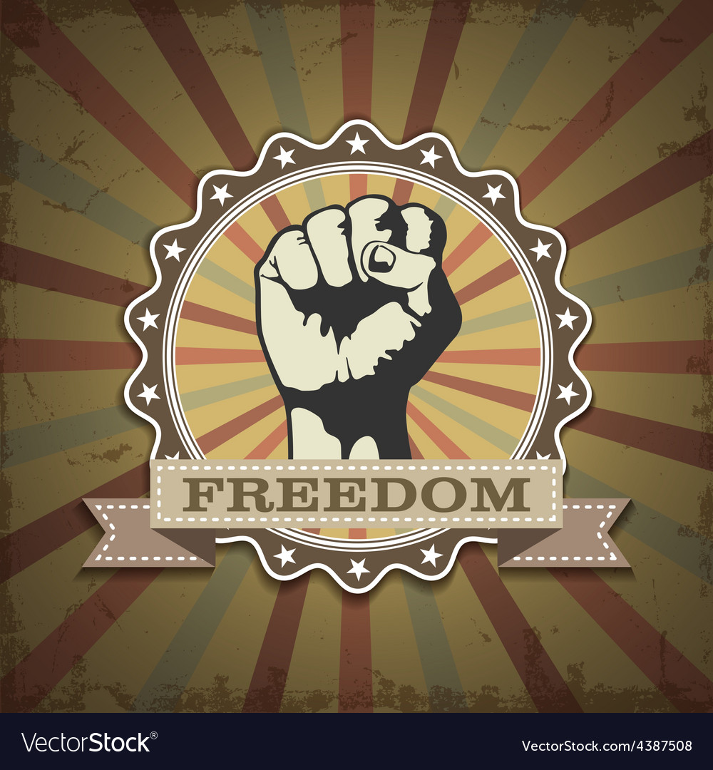 Symbol protest vector | Price: 3 Credit (USD $3)