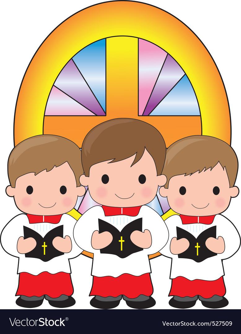 Altar boys vector | Price: 1 Credit (USD $1)