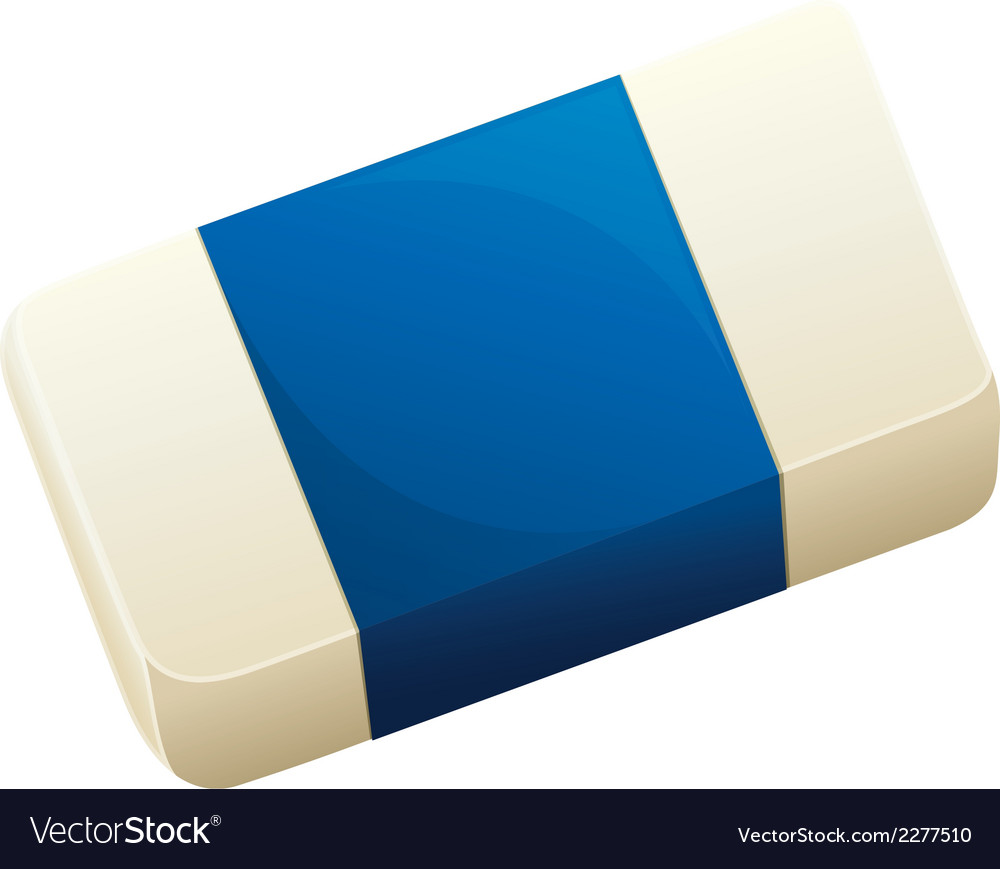 A topview of an eraser vector | Price: 1 Credit (USD $1)