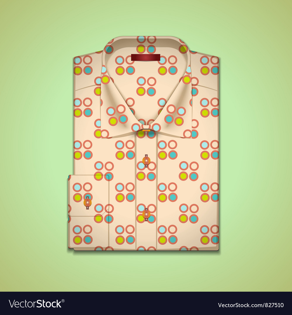 Shirt into a large peas vector | Price: 3 Credit (USD $3)