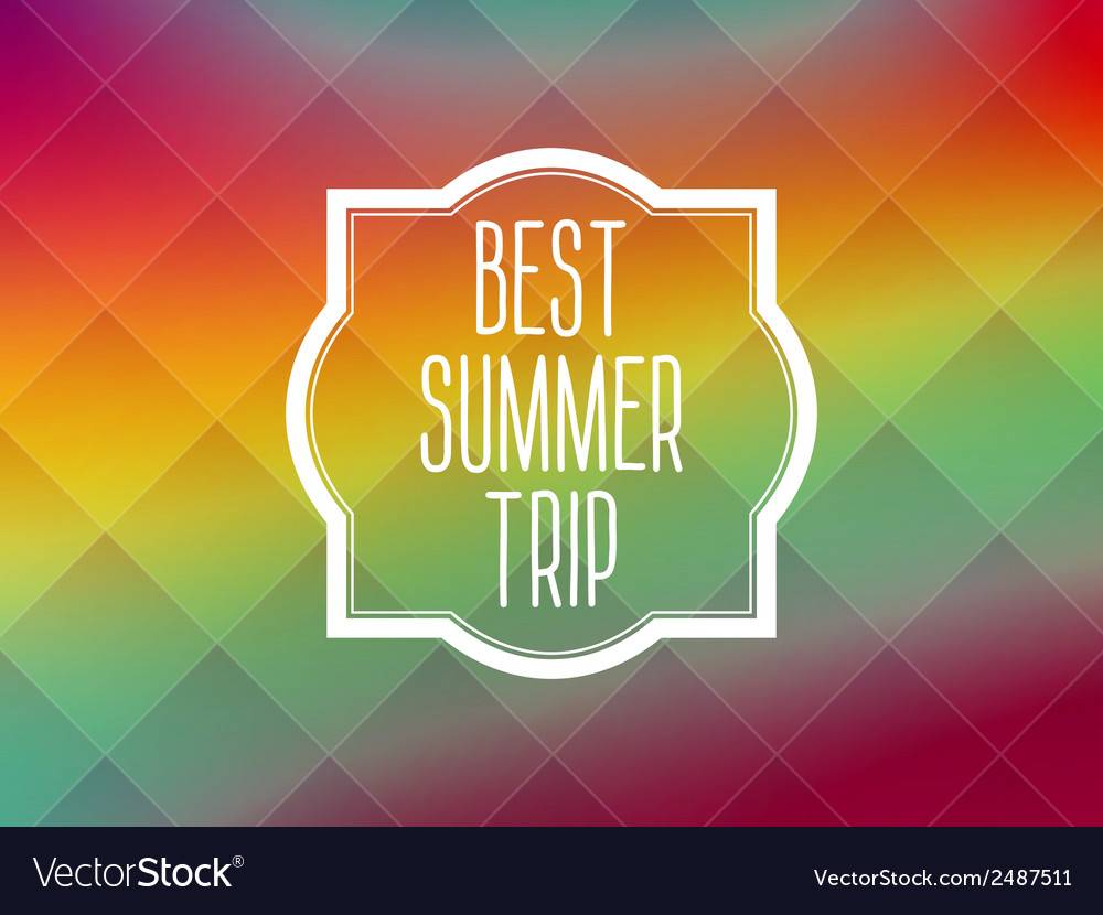 Summer frame card background vector | Price: 1 Credit (USD $1)