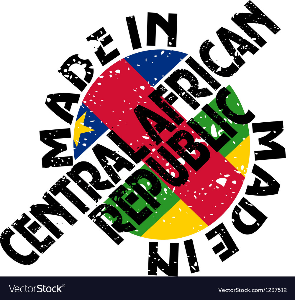 Made in central african republic vector | Price: 1 Credit (USD $1)