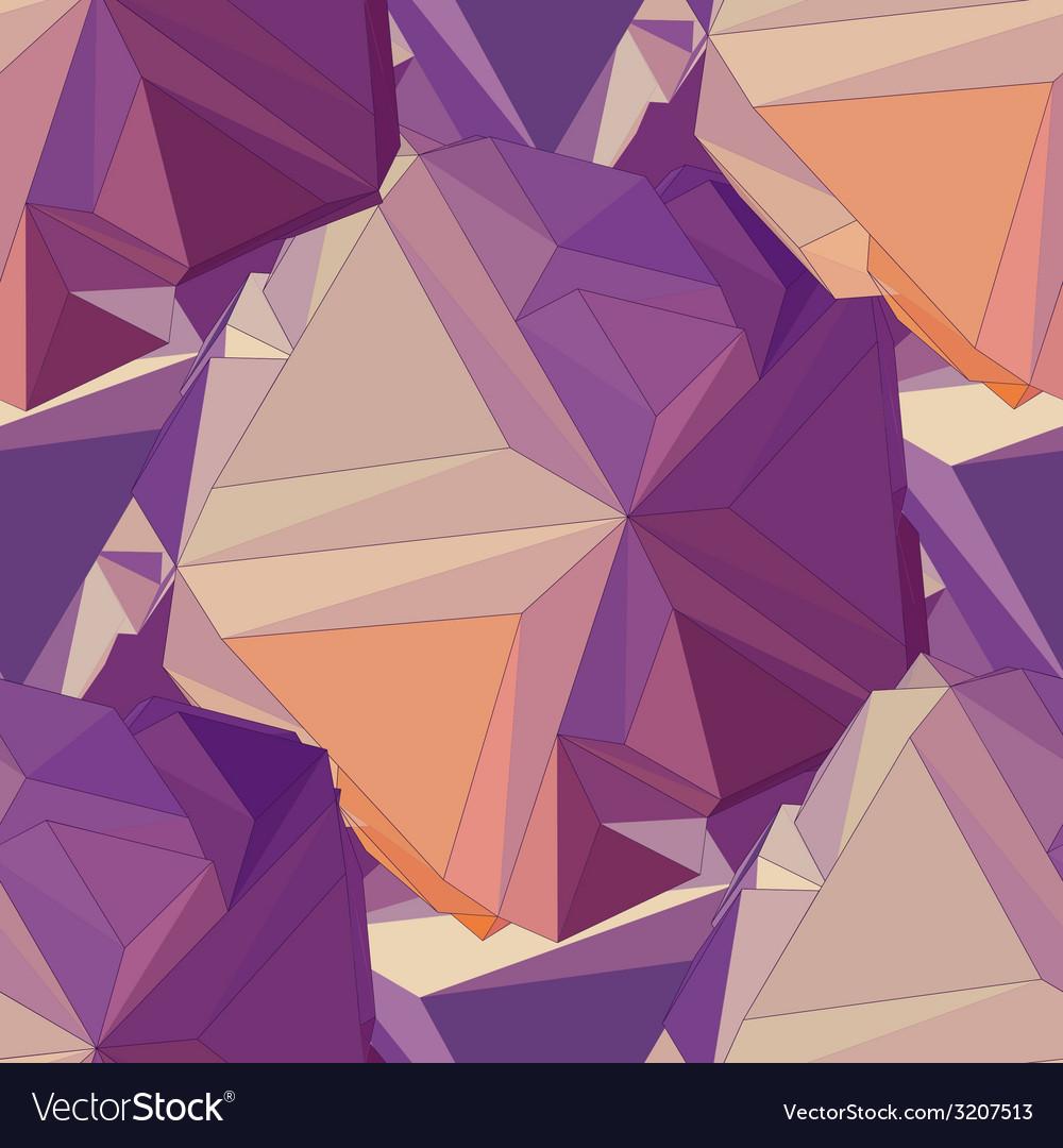 Geometric seamless background vector | Price: 1 Credit (USD $1)