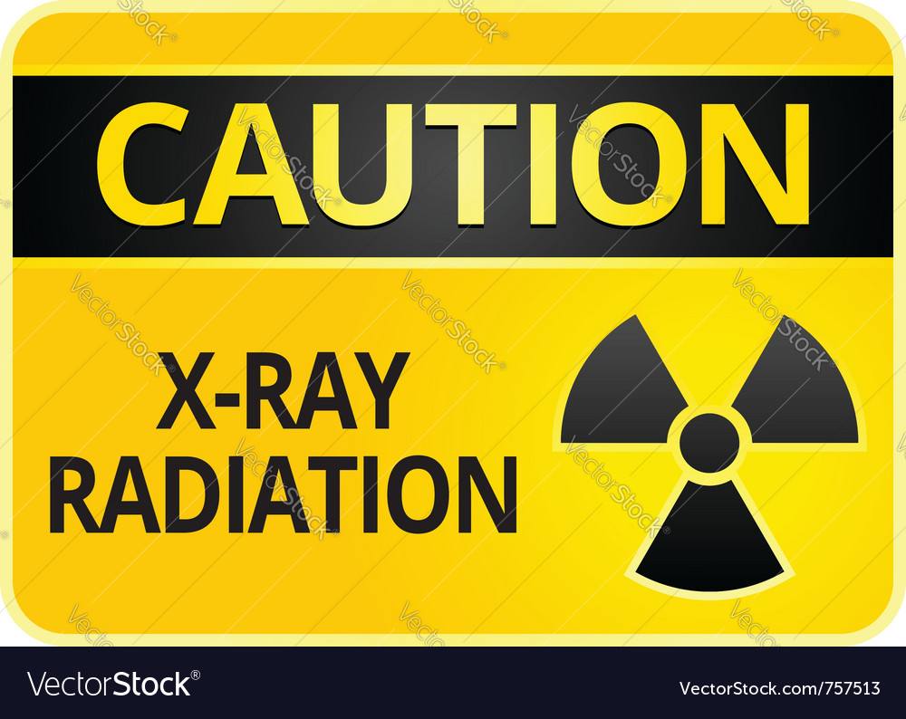 Radiation hazard sign vector | Price: 1 Credit (USD $1)