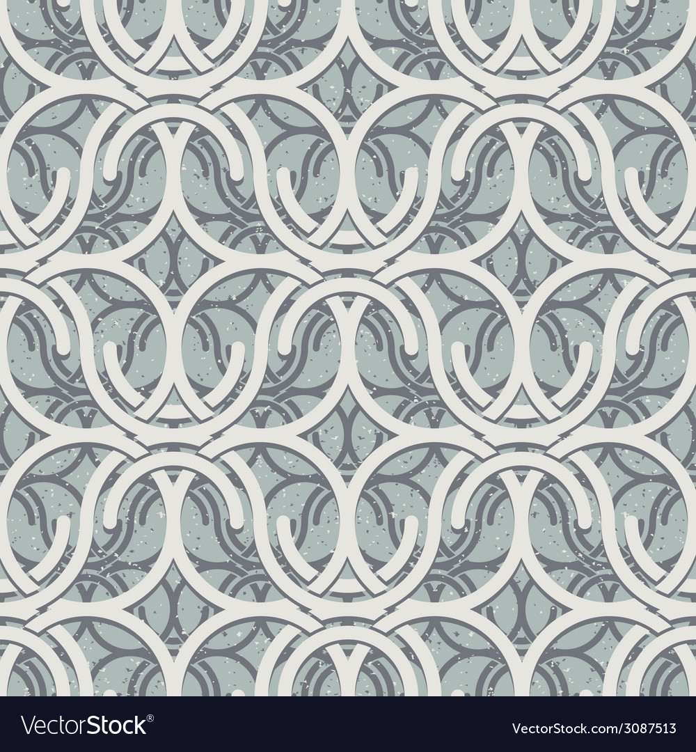 Vintage geometric seamless pattern vector | Price: 1 Credit (USD $1)