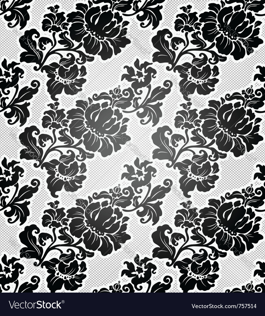 Floral filigree background vector | Price: 1 Credit (USD $1)