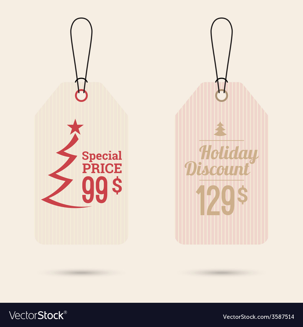 Set tags with ribbons and labels vector | Price: 1 Credit (USD $1)