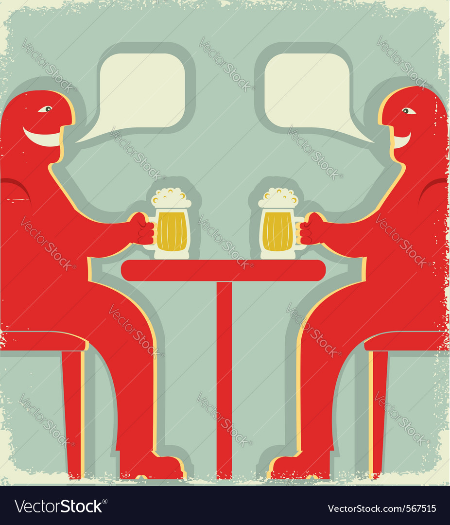Bar poster vector | Price: 1 Credit (USD $1)