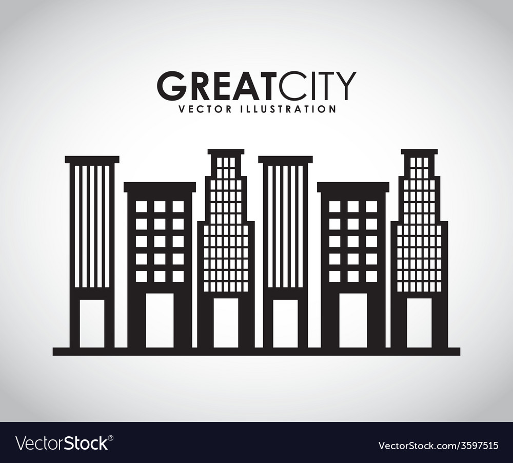 Great city vector | Price: 1 Credit (USD $1)