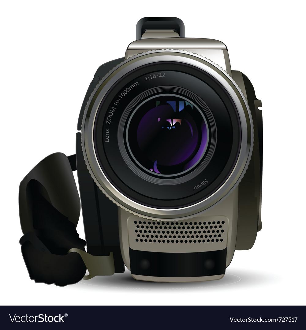 Camera video vector | Price: 3 Credit (USD $3)