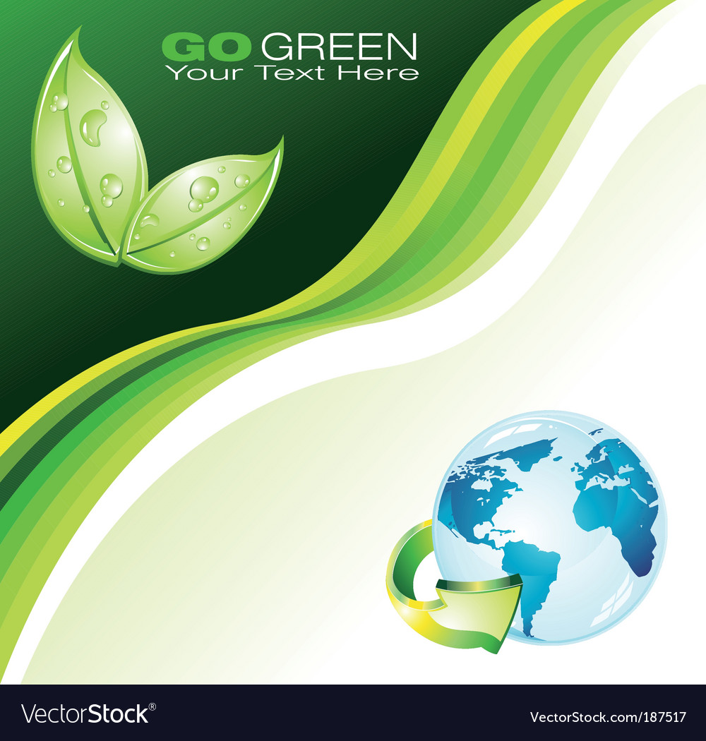 Earth background for flyers vector | Price: 3 Credit (USD $3)