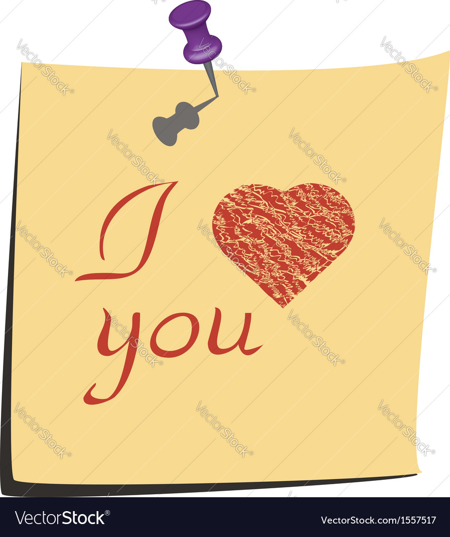 I love you2 vector | Price: 1 Credit (USD $1)