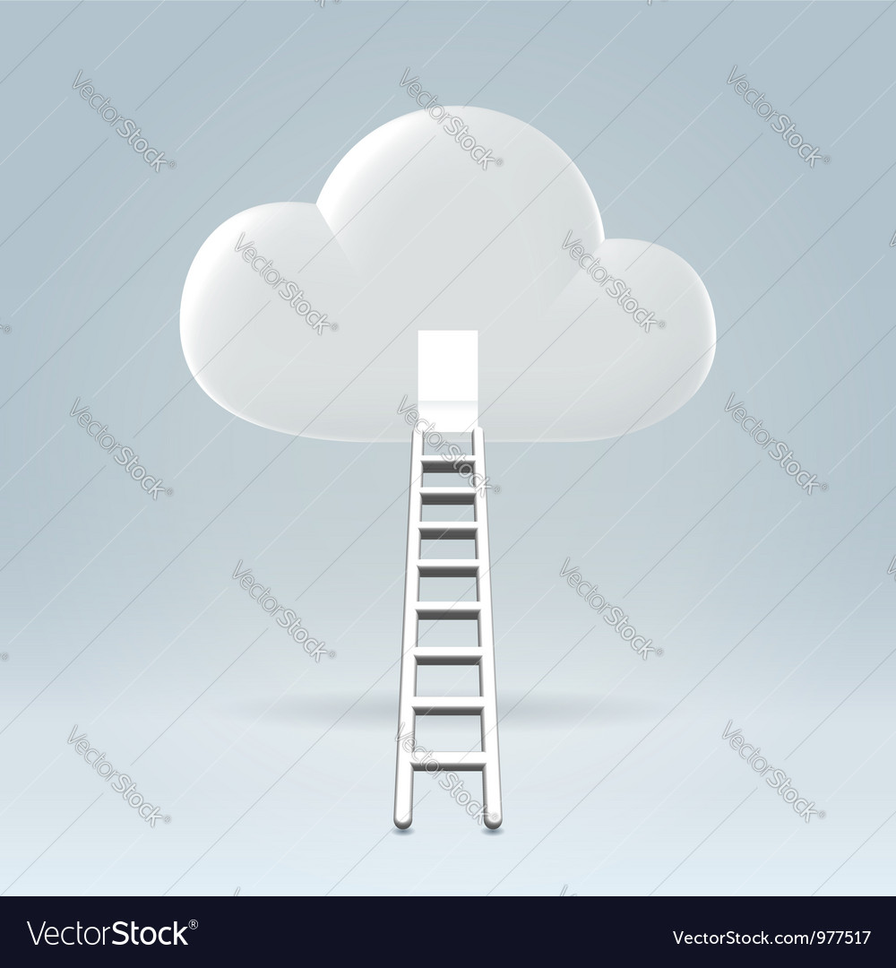 Welcome to the cloud vector | Price: 1 Credit (USD $1)