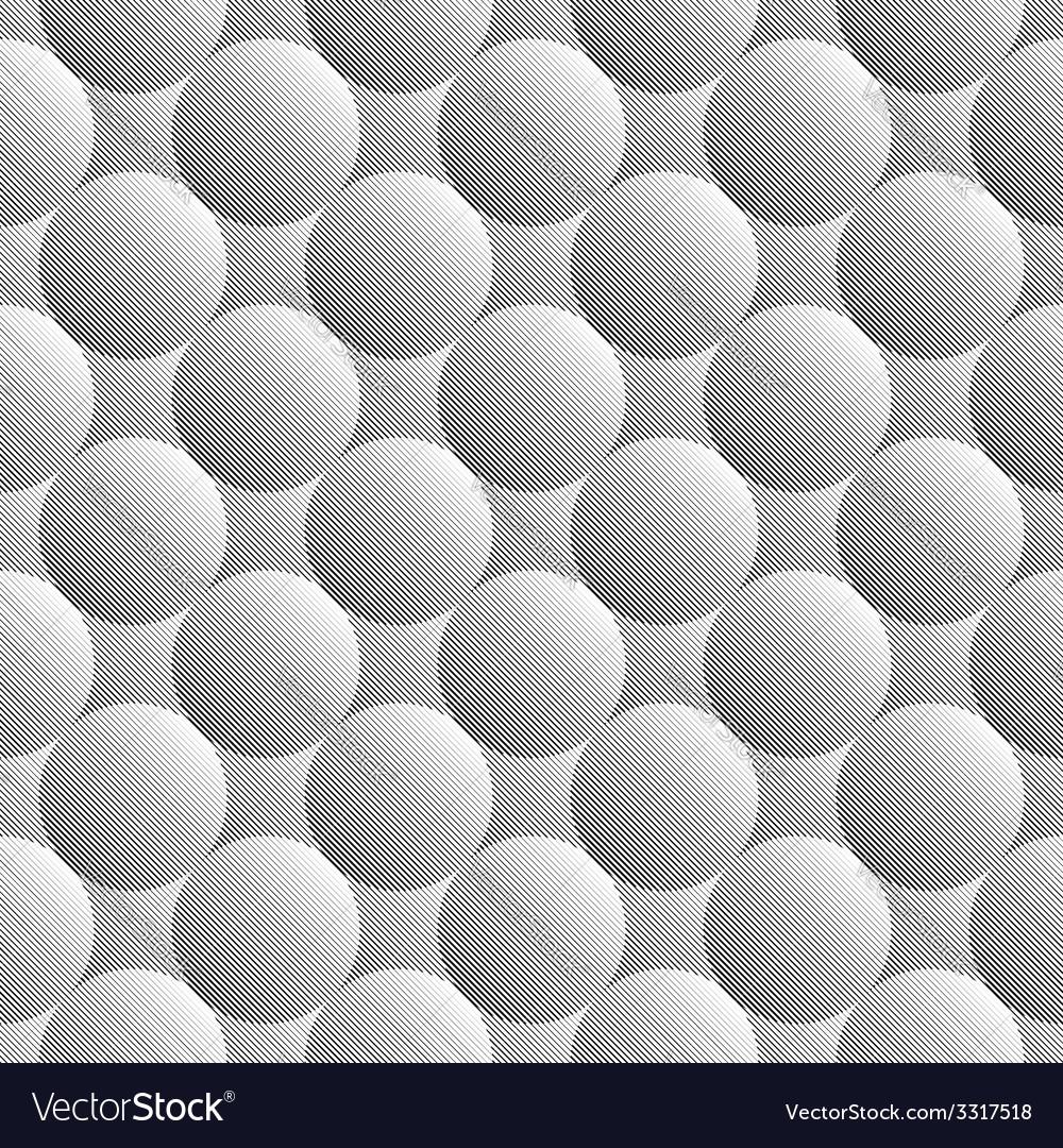 Design seamless monochrome sphere pattern vector   Price: 1 Credit (USD $1)