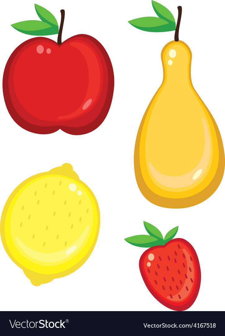 Fruit collection vector   Price: 1 Credit (USD $1)