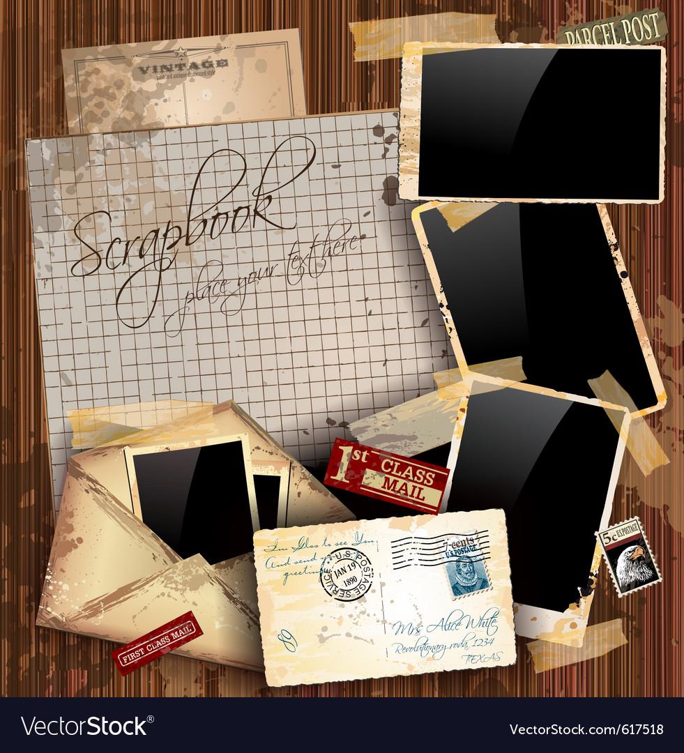 Grunge envelopes vector | Price: 3 Credit (USD $3)