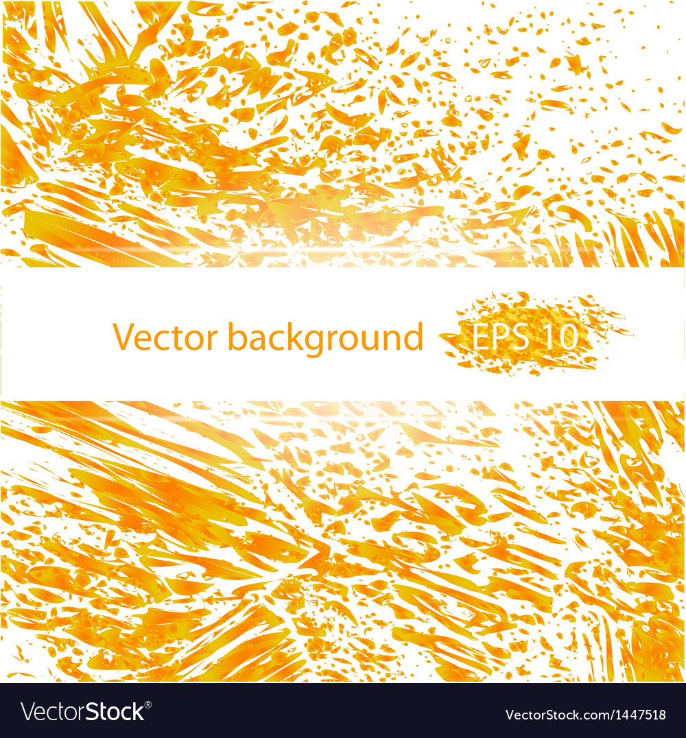 Orange juicy liquid abstract background vector | Price: 1 Credit (USD $1)