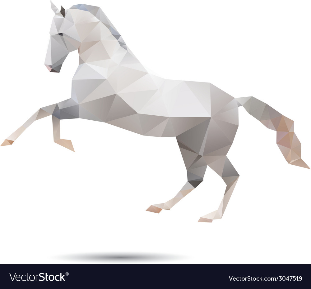 Horse abstract vector | Price: 1 Credit (USD $1)