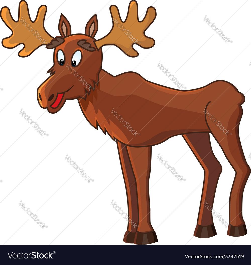 Moose vector | Price: 1 Credit (USD $1)