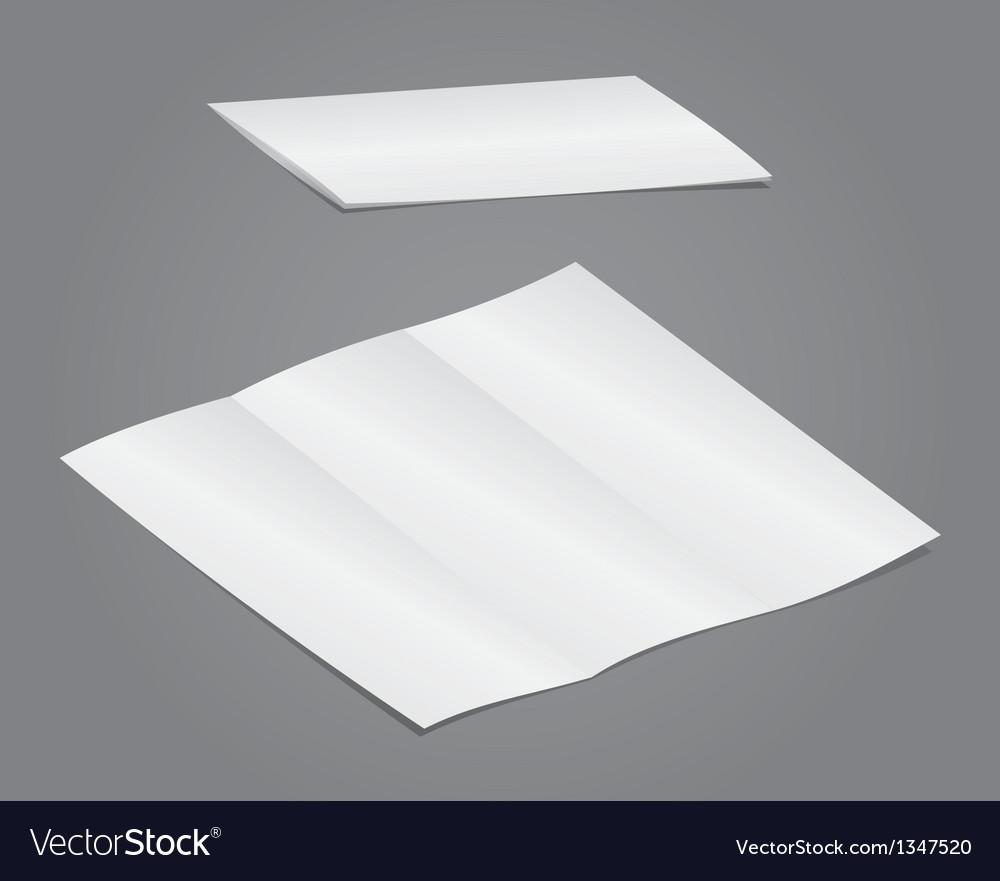 Blank folding vector | Price: 1 Credit (USD $1)