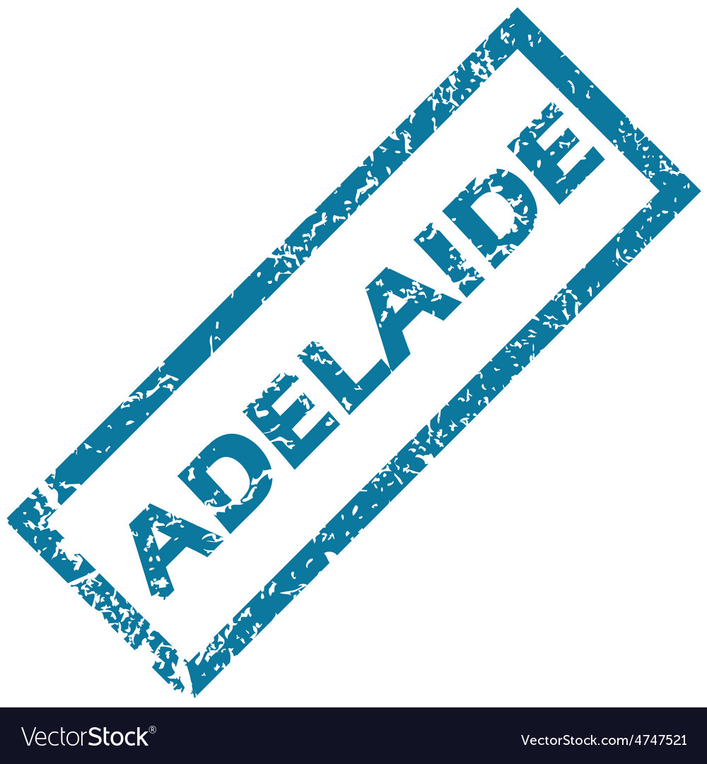 Adelaide rubber stamp vector | Price: 1 Credit (USD $1)