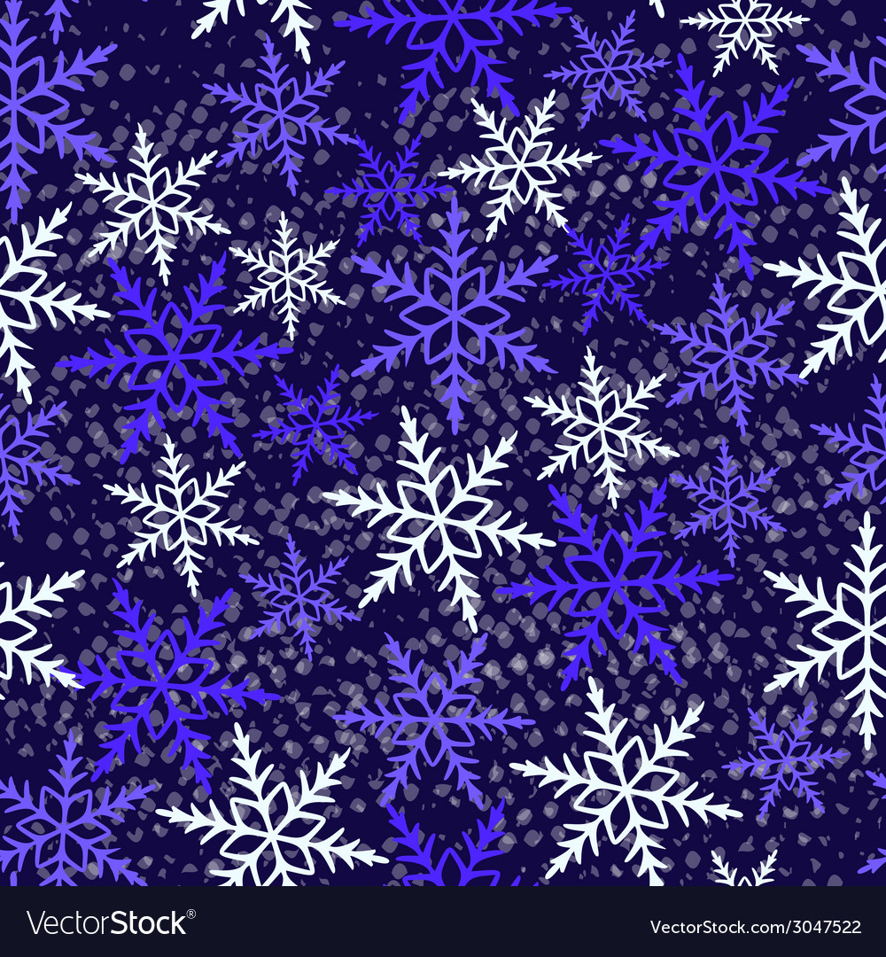 Seamless winter pattern vector | Price: 1 Credit (USD $1)
