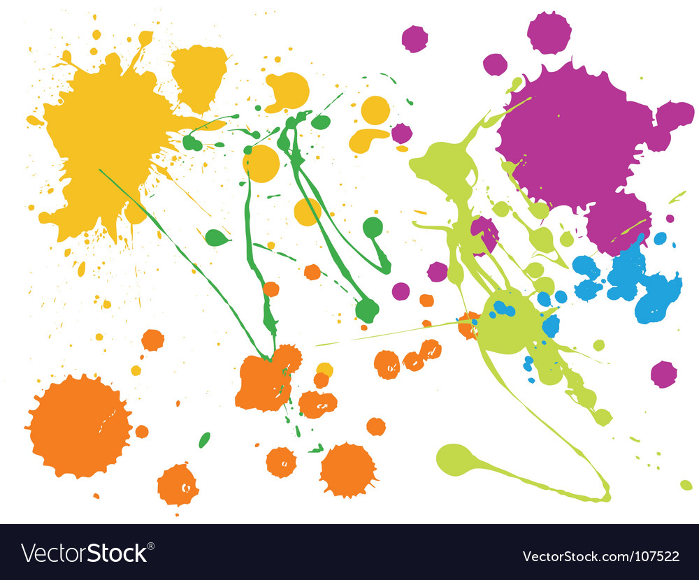 Splatter vector | Price: 1 Credit (USD $1)