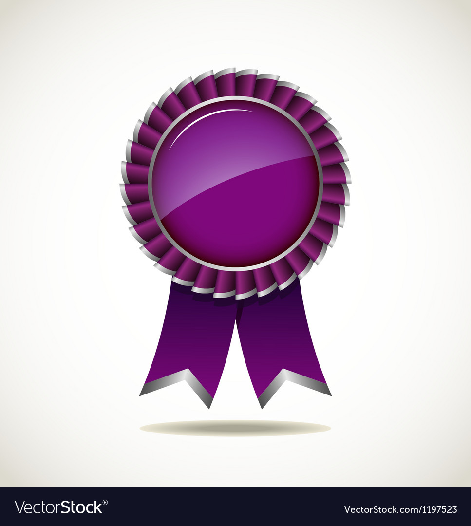 Award rosette vector | Price: 1 Credit (USD $1)