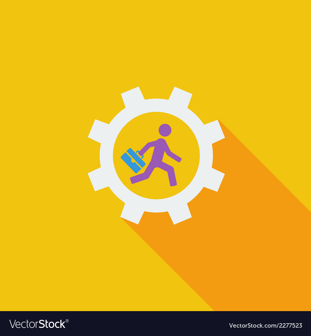 Business flat icon vector | Price: 1 Credit (USD $1)