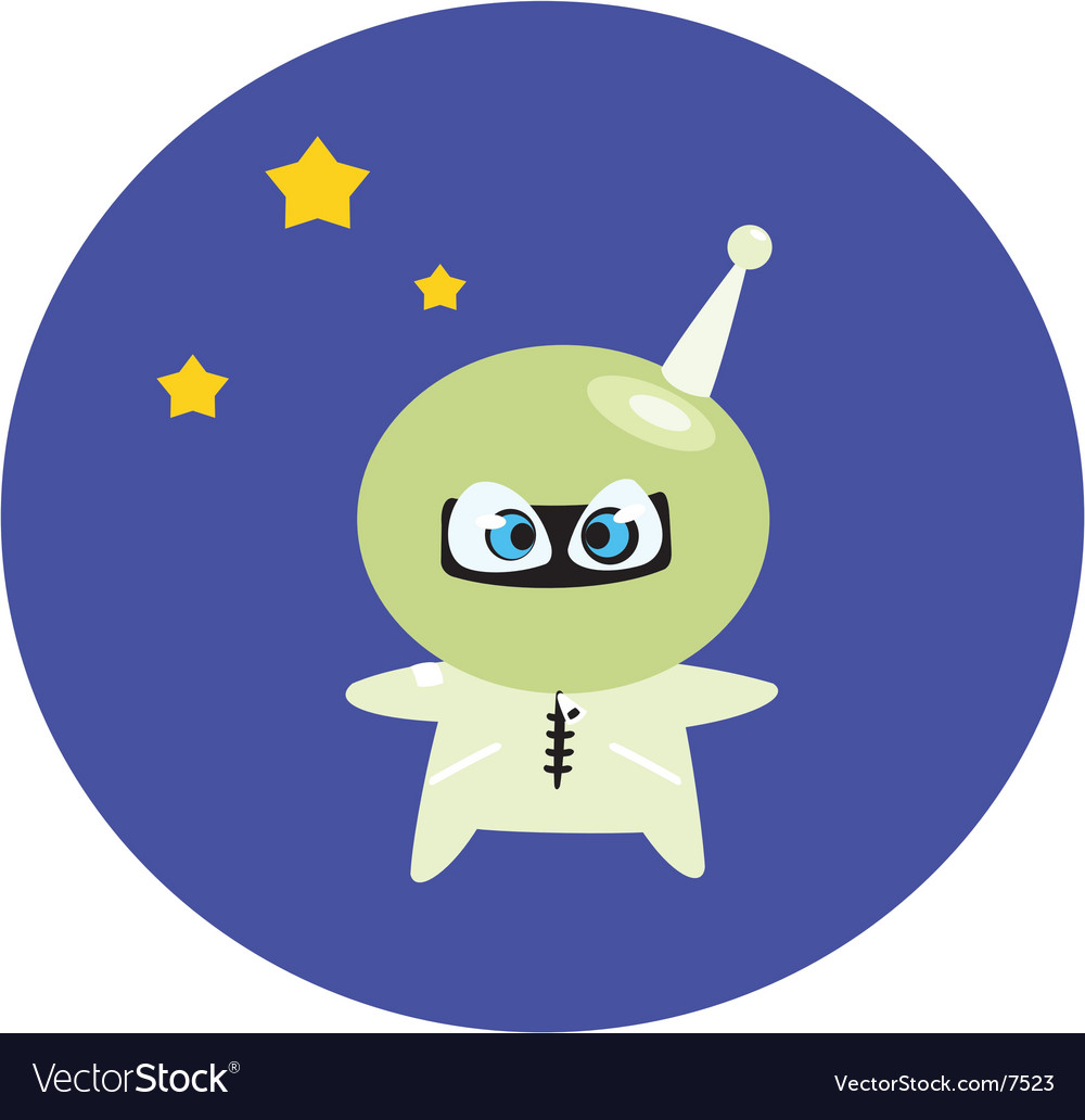 Funny spaceman vector | Price: 1 Credit (USD $1)