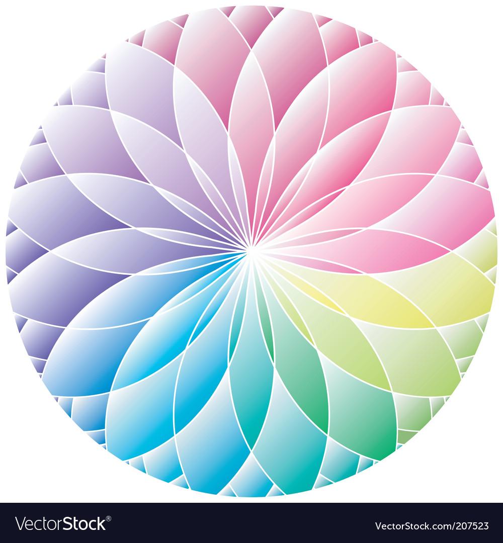 Gradient wheel vector | Price: 1 Credit (USD $1)