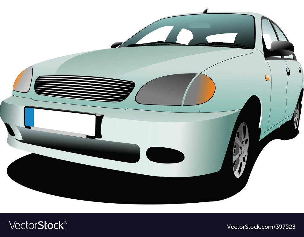 Motor car vector | Price: 1 Credit (USD $1)