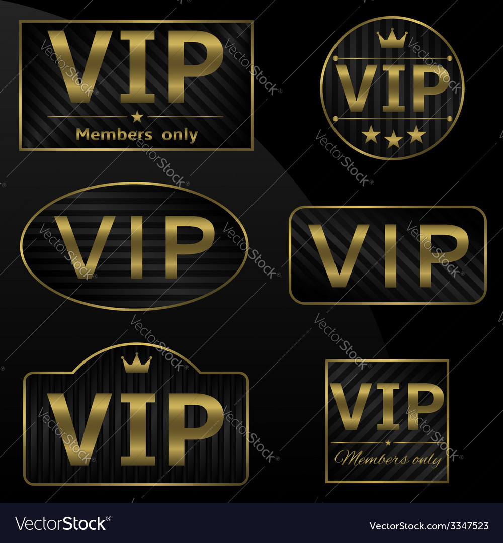 Vip members only vector | Price: 1 Credit (USD $1)