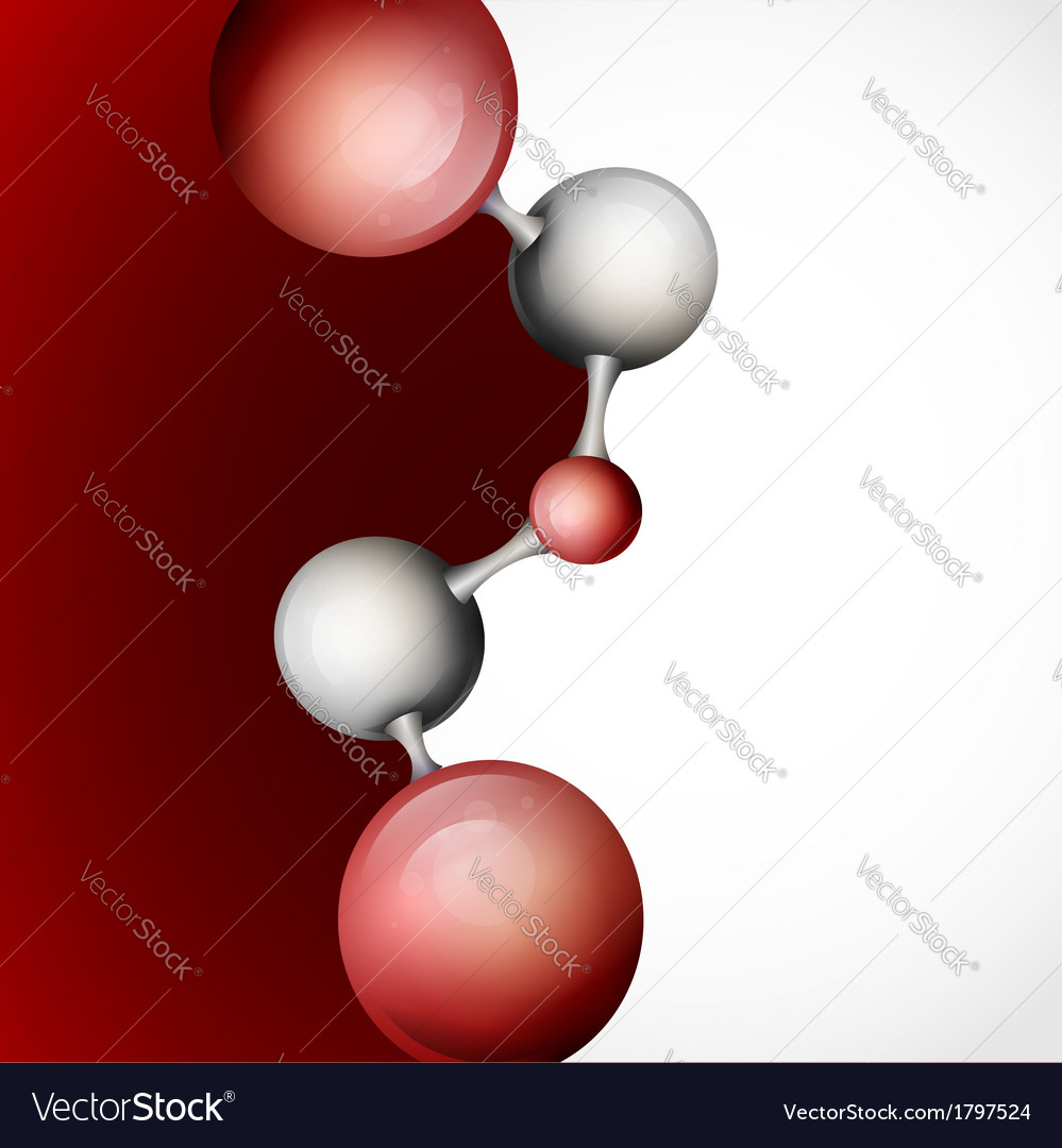 3d molecule background vector | Price: 1 Credit (USD $1)