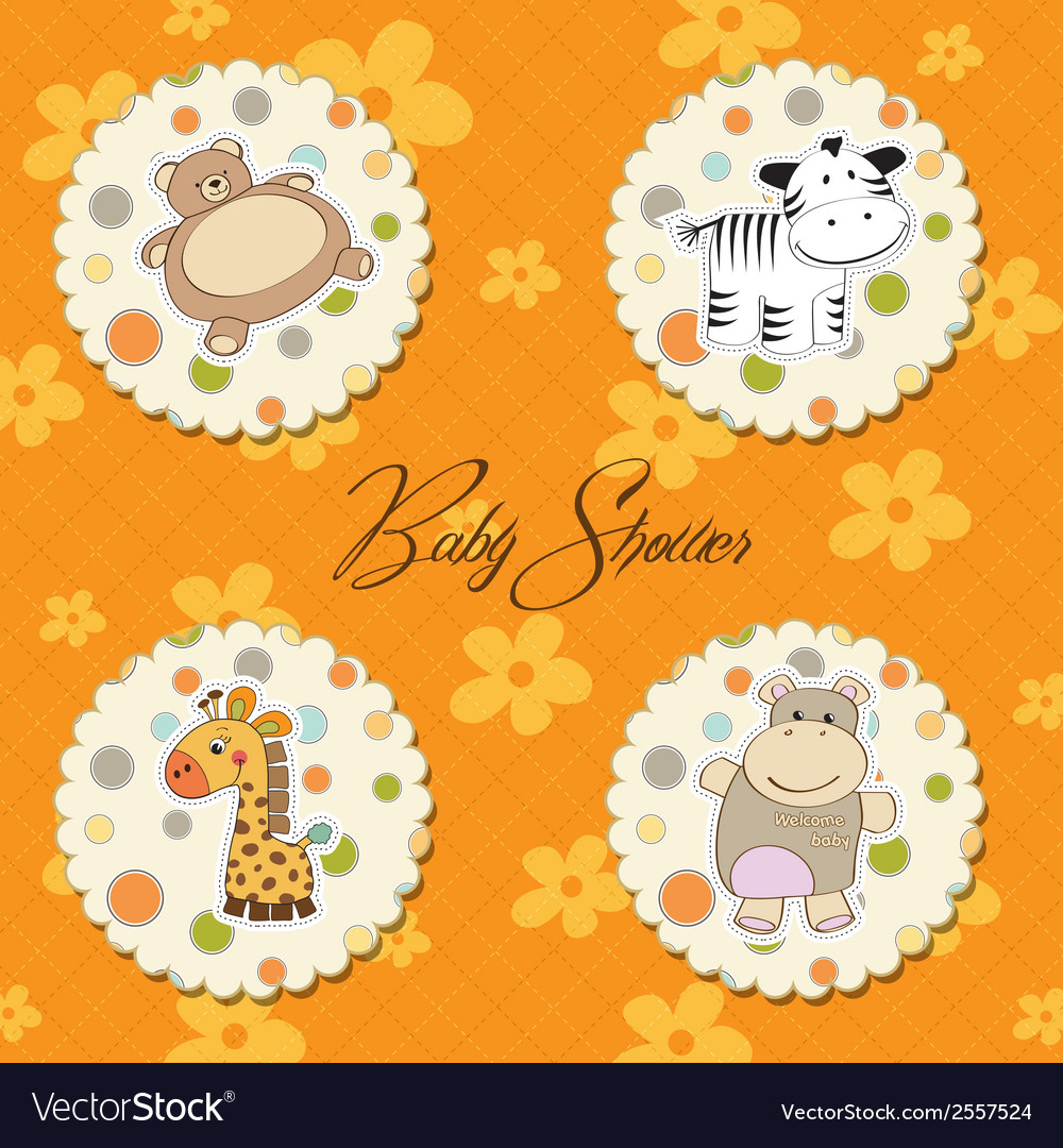 Cartoon baby toys items collection vector | Price: 1 Credit (USD $1)