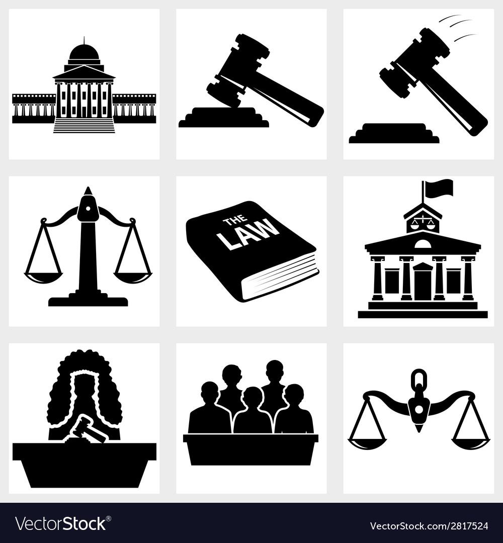 Court icon vector | Price: 1 Credit (USD $1)
