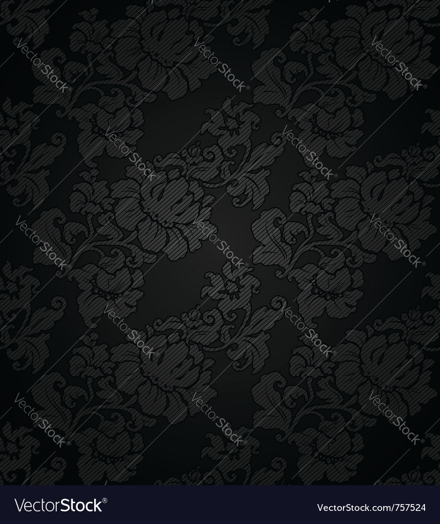 Floral fabric texture vector | Price: 1 Credit (USD $1)