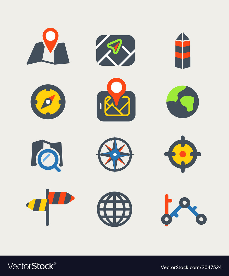 Navigation vector | Price: 1 Credit (USD $1)