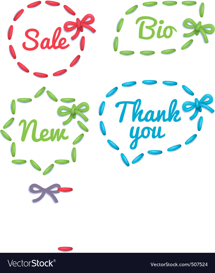 Selling tag set vector | Price: 1 Credit (USD $1)
