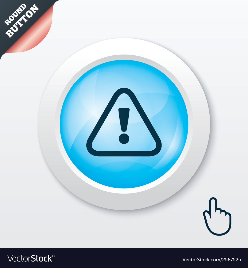 Attention sign icon exclamation mark vector | Price: 1 Credit (USD $1)
